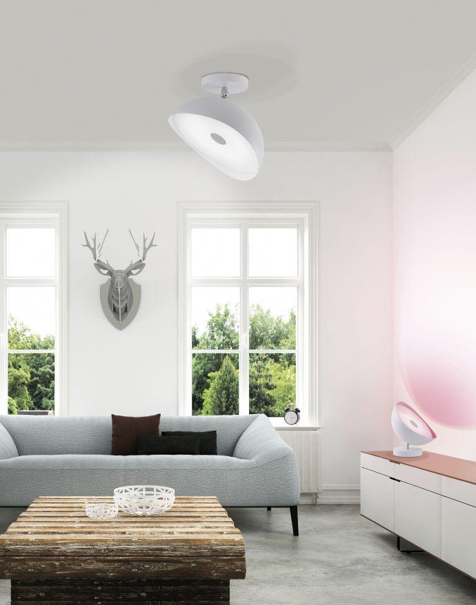 Q-ALEXIS Tischleuchte mit Smart Home Technik inkl. Farbwechsel und Dimmfunktion (Auslauf)