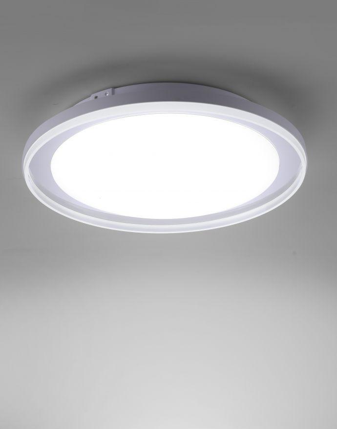 LED Deckenleuchte, Chrom, CCT-Steuerung, Fernbedienung, Memory Funktion