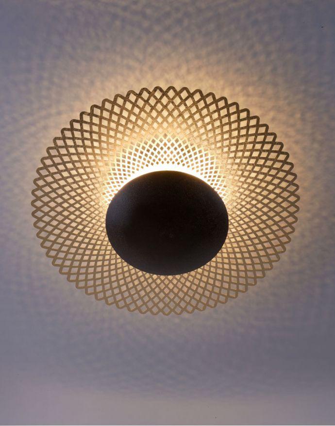 LED Deckenleuchte, rost-gold, indirekt, blendfrei, dimmbar, Memory Funktion