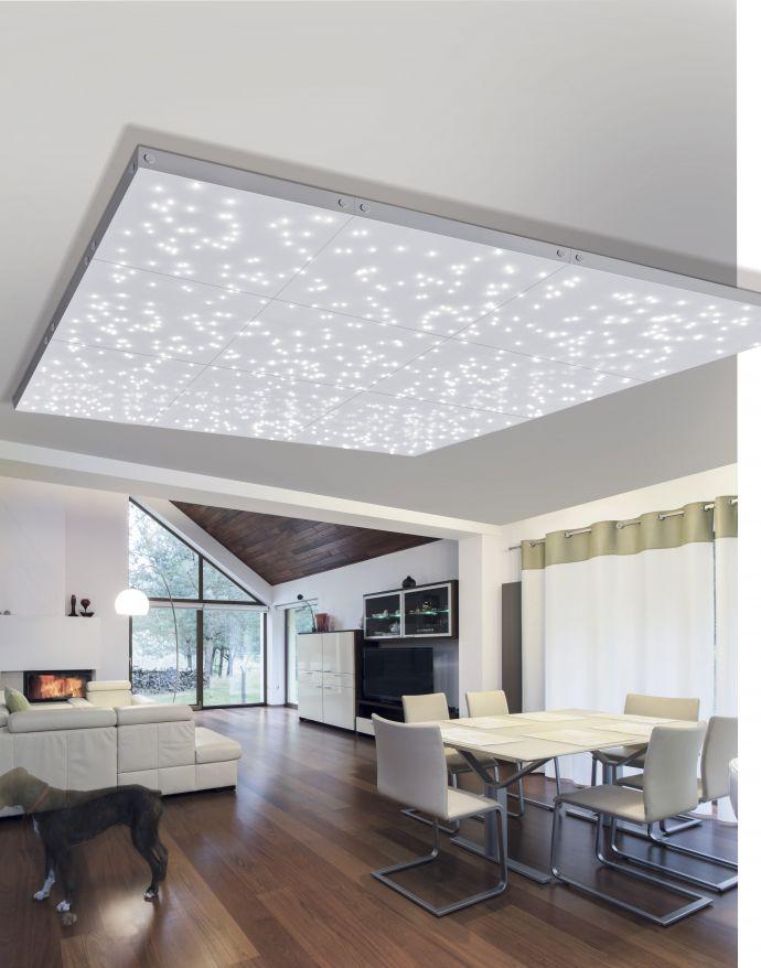 LED Sternenhimmel Panel, Erweiterungs Modul, 30x30cm