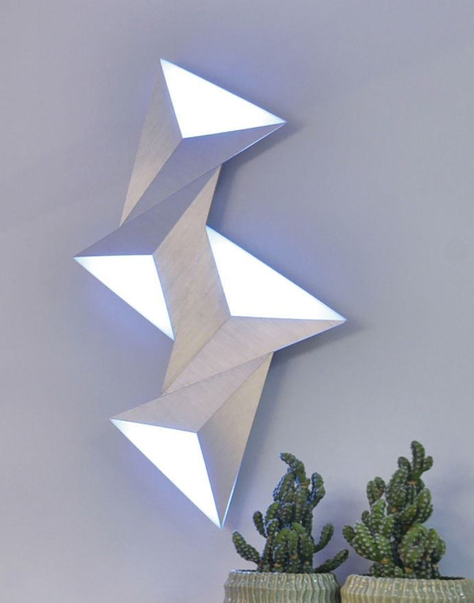 Paul Neuhaus, Q-TETRA, LED-Wandleuchte, Smart Home, SATELLITE