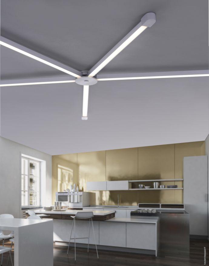 Paul Neuhaus, Q-SPIDER, Lichtprofil, dimmbar, Fernbedienung, Smart-Home