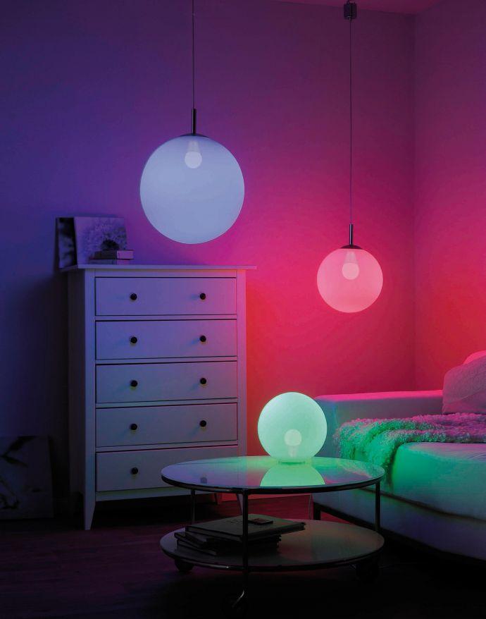 Paul Neuhaus, Q-LED Leuchtmittel, E27, CCT, RGB, dimmbar,  Smart-Home