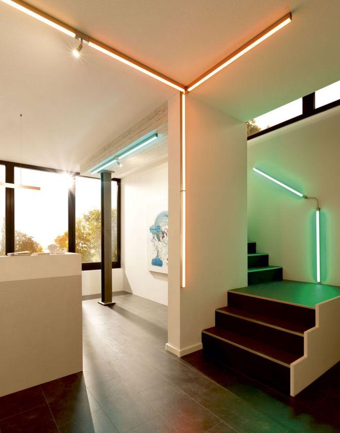 Paul Neuhaus, Q-SNAKE, Schiensystem, RGB,dimmbar, Smart Home (Auslauf)