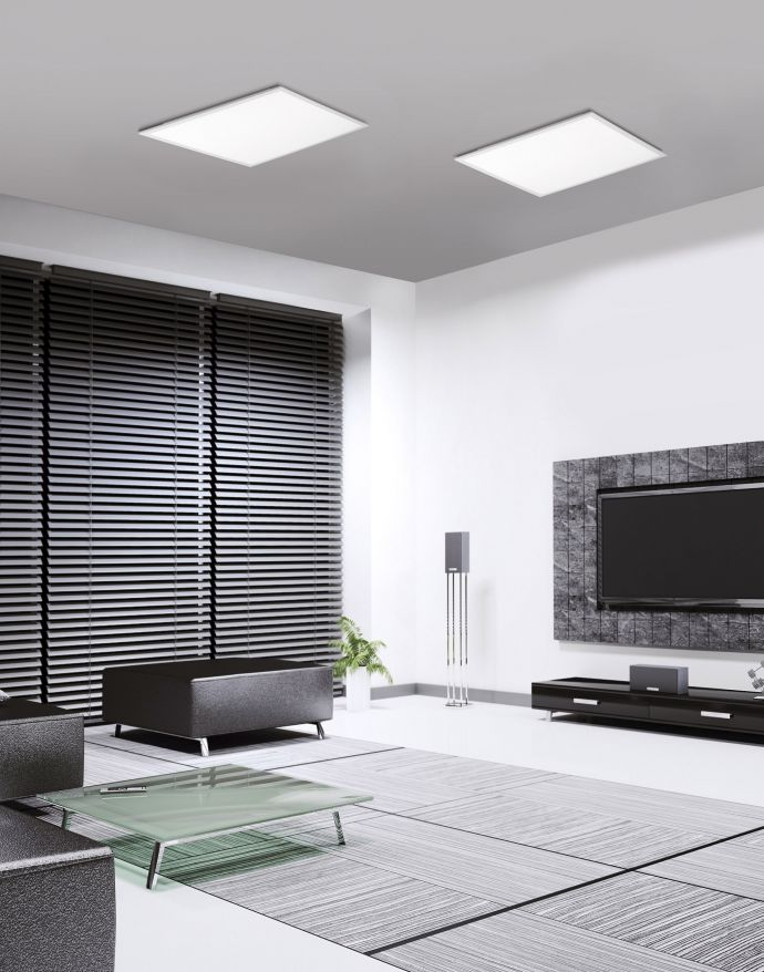 Paul Neuhaus, Q-FLAG, LED-Panel, 45x45cm, Deckenleuchte, Smart-Home, Memory Funktion