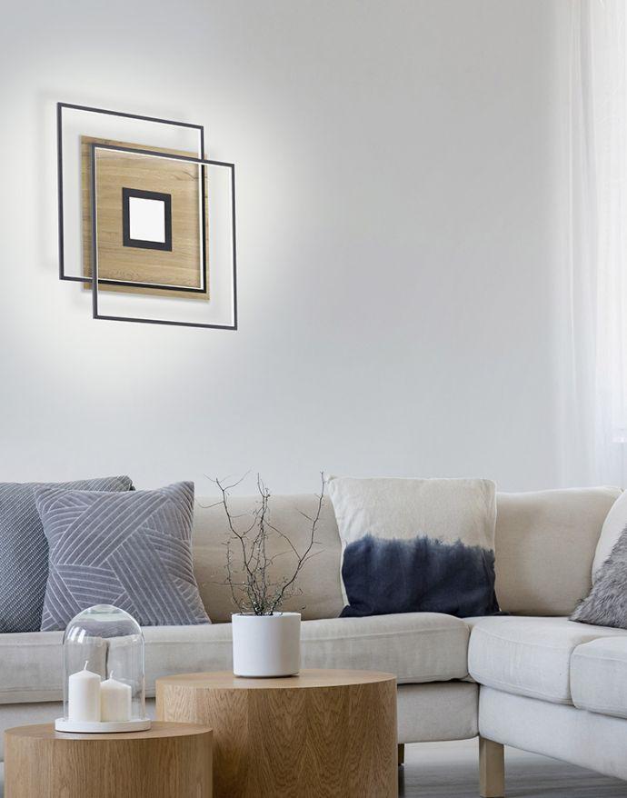 Paul Neuhaus, Q-AMIRA, LED-Deckenleuchte, Fernbedienung, Smart Home