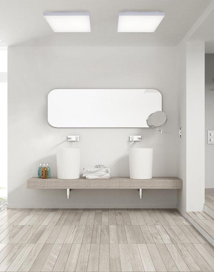 LED-Panel,weiß, 30x30cm, rahmenlos, CCT, Fernbedienung
