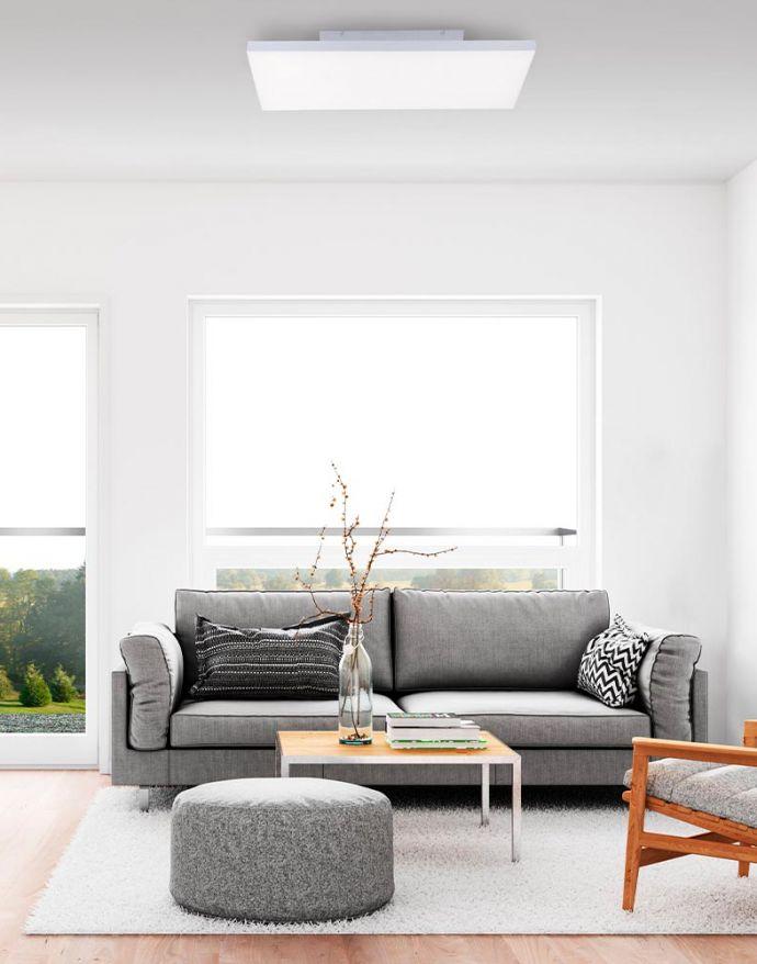 LED-Panel,weiß, 60x30cm, rahmenlos, Fernbedienung,  Memory Funktion