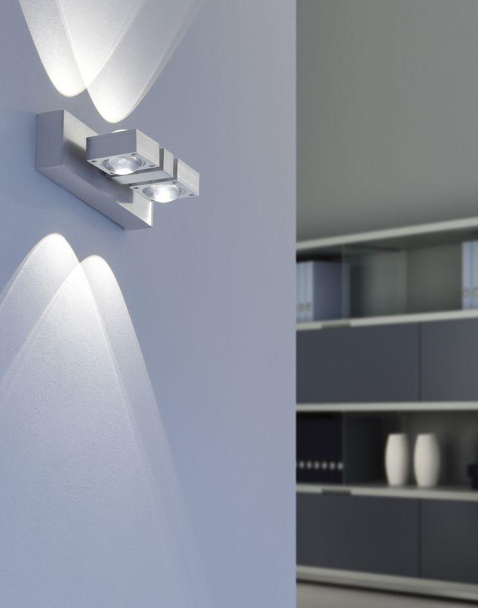 Paul Neuhaus, Q-NEMO, LED-Wandleuchte, Deckenleuchte, 2flg, Smart Home
