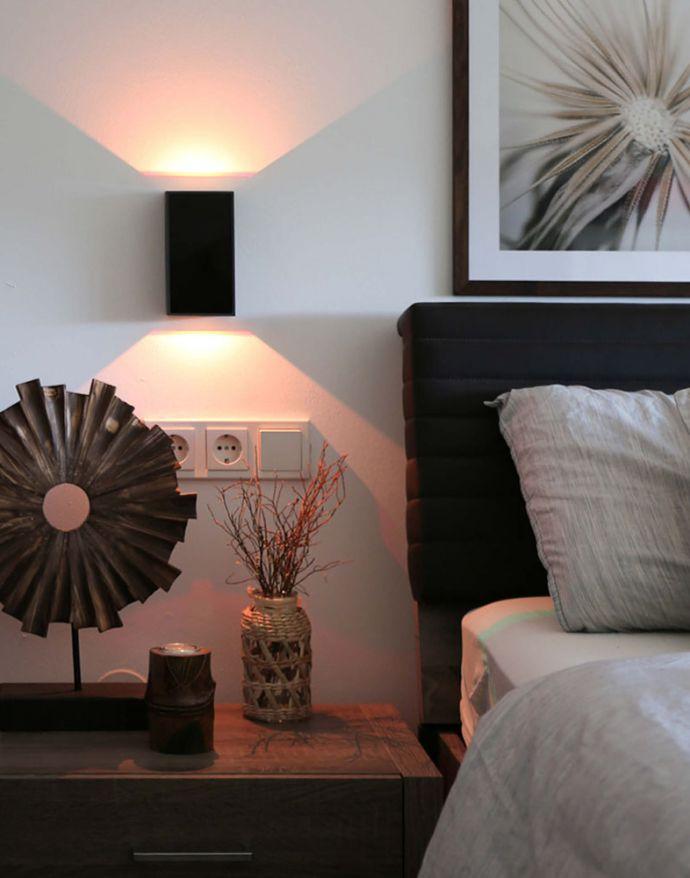 Paul Neuhaus, Q-DARWIN, LED-Wandleuchte, anthrazit, IP 65, Smart Home