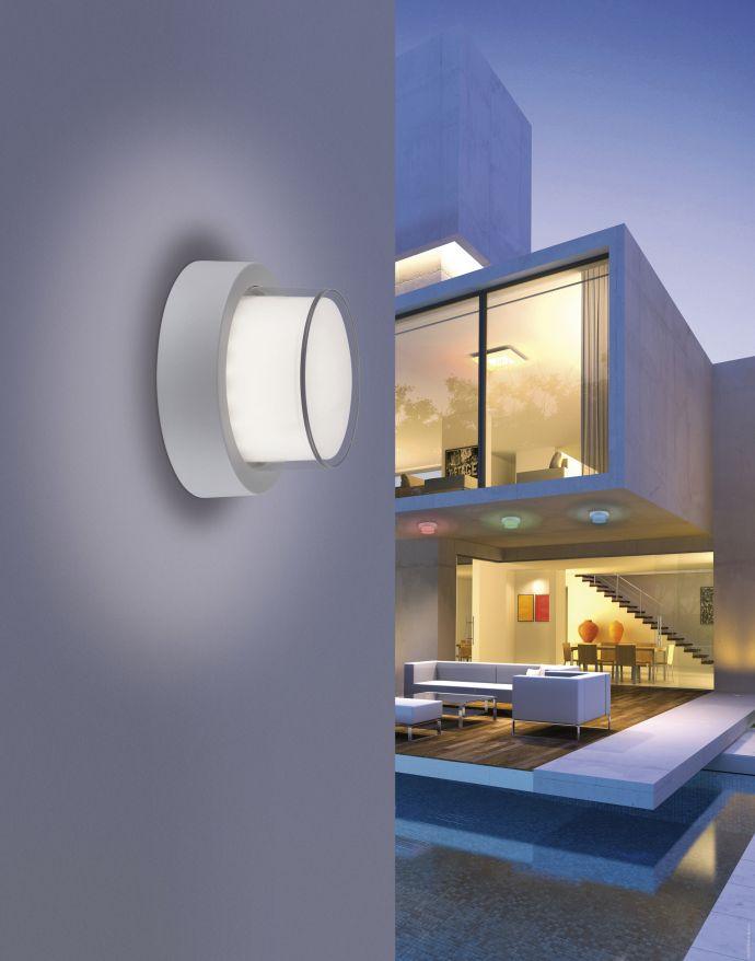 Q-ERIK Außenleuchte Smart-Home, RGB Farbwechsel inkl. Dimmfunktion, spritzwassergeschützt (Auslauf)